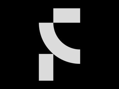 Letter F icon symbol logotype logo lettering letter font typo type typogaphy 36days 36daysoftype
