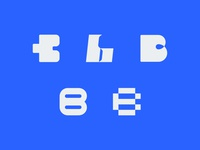 b typography experiment