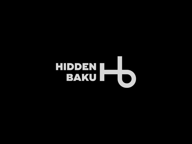 Hidden Baku road key minimal hidden hiddenbaku illustration brand symbol modern logoawesome icon creative creativelogo logo design typography branding logotype logo