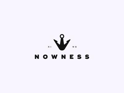 King Nowness mark typo logomark brand identity illustration symbol logoawesome modern icon creative creativelogo logo designer logo design typography branding designer logotype brand logo design