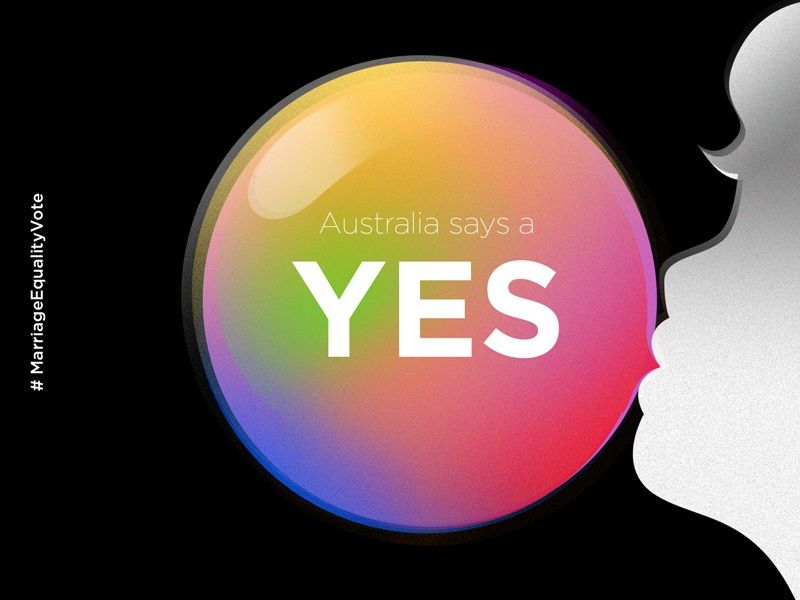 YES yes equality marriage