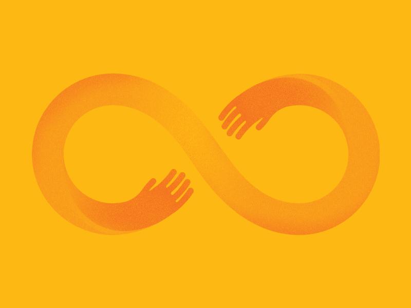 Infinity Loop icon infinity loop
