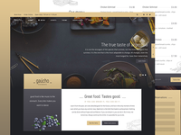Gaucho Restaurant HTML Template
