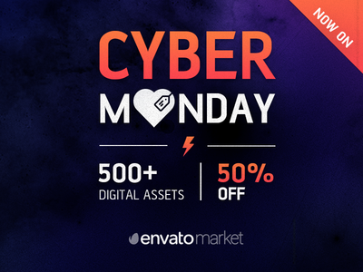 Cyber Monday Deal - 50% off