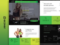 Recover - Gym/Fitness Joomla Template