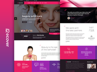 Recover - Beauty and Salons Joomla Template