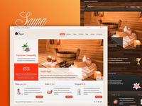 Health, Sauna & Spa Template