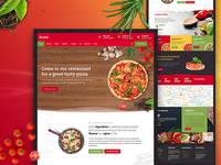 Pizzeria Restaurant Template