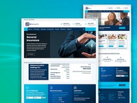 01 - Insurance Website built with Buckle