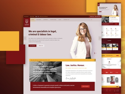 Lawford Theme - For law firms and attorneys