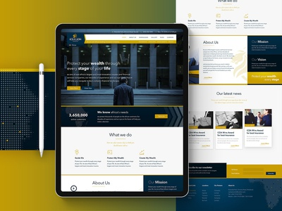 ICEA Website Re-design Concept