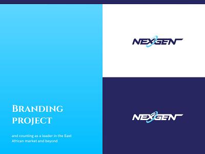 NexGen - Branding ux design colors typogaphy logo branding