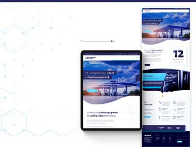 nexgen website re-design business responsive logo ui ux web design web website design