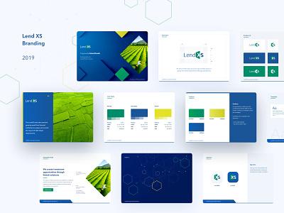 Finance fintech SaaS branding web app typography vector logo illustration business ui brand design cards brand book branding