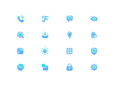 Setting Icon Sets