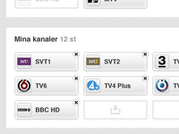 TV Guide - Pick your Channels