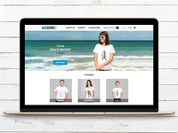 Cosmic Tee - Visual Identity & Website Layout