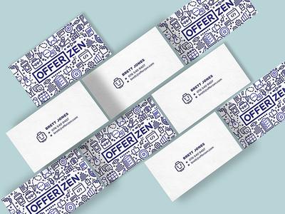 New OfferZen Business Cards 🦄 😎