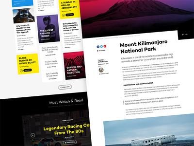 Sirocco clean minimal ui design web design user interface user experience ux template joomla rockettheme app