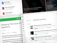 Feedly Desktop metro mobile news minimal feedly collaboration desktop uwp windows 10 user interface apps