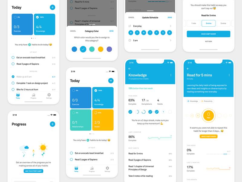 Polaris — Habit Tracking App