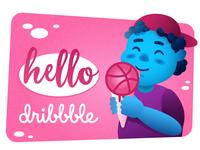 Hello Dribbble)