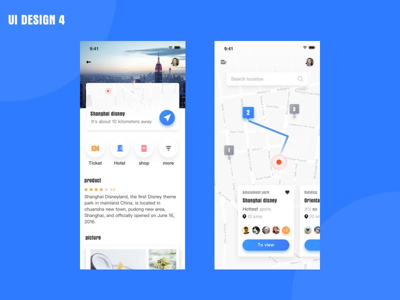 UI DESIGN app practise ui icon