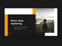 Adventure - Webdesign