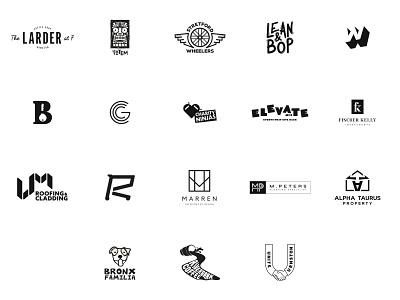 Logo Collection 2019/20 - Vol. 001 logodesign oll korrect logo design logo design minimal creative agency branding brand identity