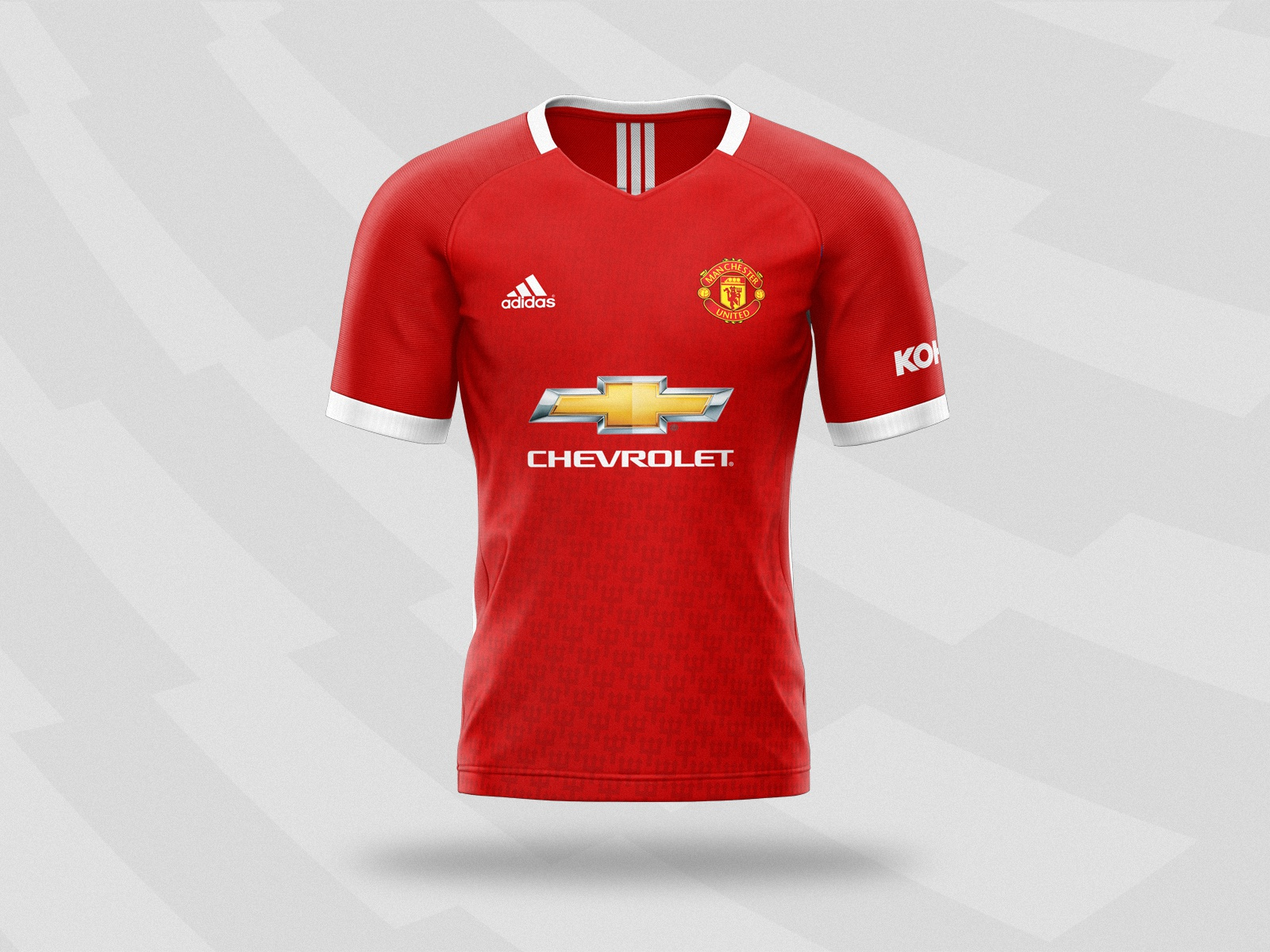 manchester united 2020 21 home kit concept design by maciej zielinski on dribbble manchester united 2020 21 home kit