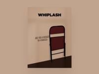 Minimal movie posters #4 - Whiplash
