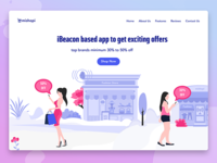 iBeacon based app to get exciting offers
