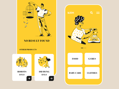 Kids App design uiux app design games colorful ios app kids kids app
