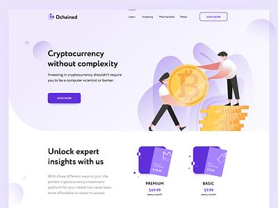 Cryptocurrency webisite figma webdesign cryptocurrency creative dribbble enjoy ui ux design