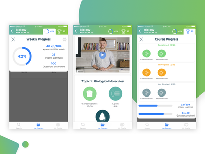 SnapRevise mobile app learning platform learning app mobile app design design ui