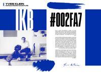 Yves Klein - Monochrome Adventure