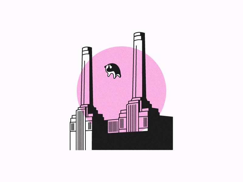 Animals - Pink Floyd by Antoine Fouilloux on Dribbble