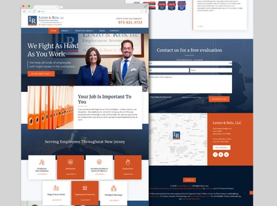 Lenzo & Reis Website web design