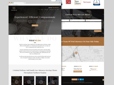Lee Lopez Website web design