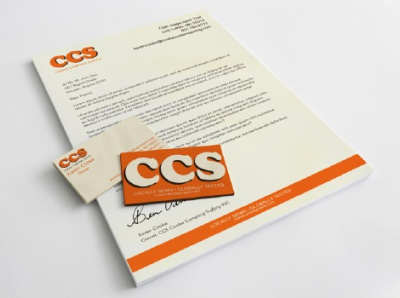 CCS Branding Concept branding design