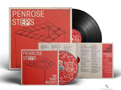 Teddy Holidays EP album cover design