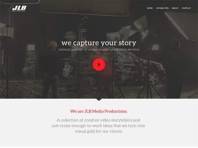 JLB Media Productions - Homepage