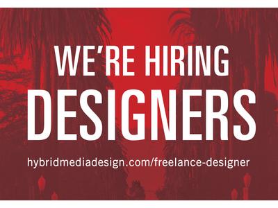 Hiring - Graphic Designer