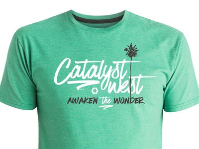 Cataylst West tshirt