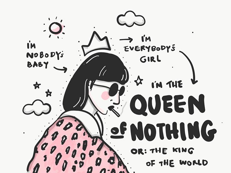 Queen Of Nothing By Lamona Studio Dribbble Dribbble