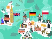 UK, Germany & Poland