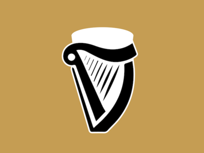 Guiness Harp Gold Combo
