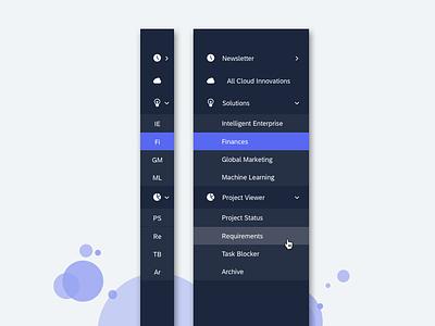 Side Navigation ux side panel side bar menu animation menu design menu side navigation side menu side nav