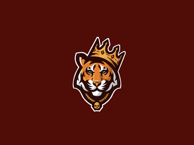 Tiger King sports design sports tiger logo identity sports identity branding sports branding sports logo