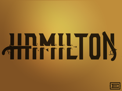 Hamilton Wordmark Concept typedesign type art typeface type